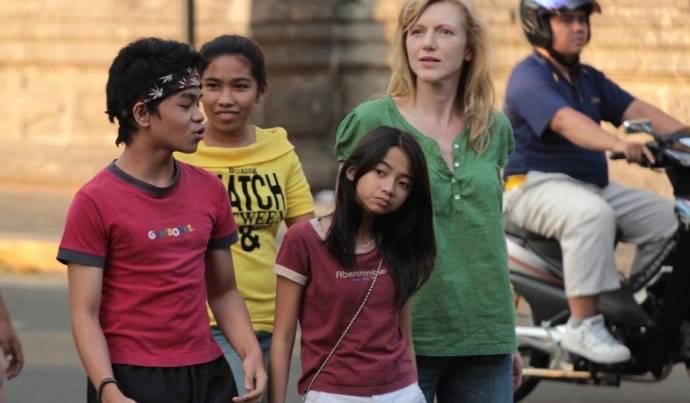 Sandy Talag (Lilet) en Johanna ter Steege (Claire)