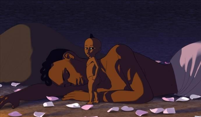 Kirikou en de mannen en vrouwen 3D filmstill