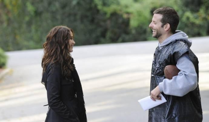 Jennifer Lawrence (Tiffany) en Bradley Cooper (Pat)