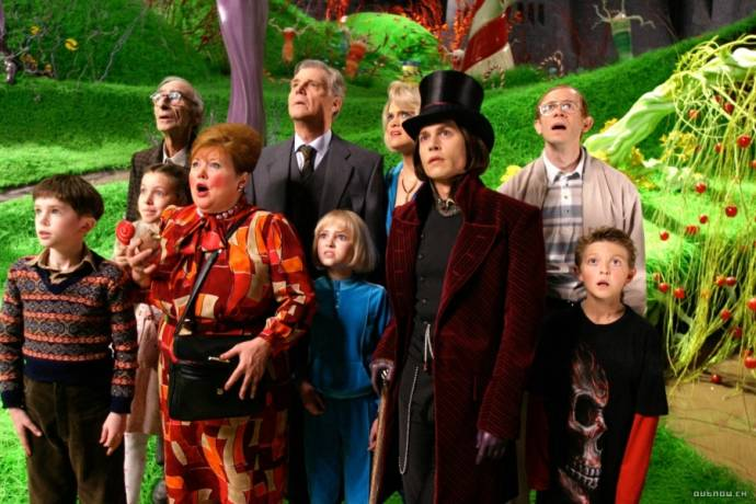 Charlie and the Chocolate Factory filmstill