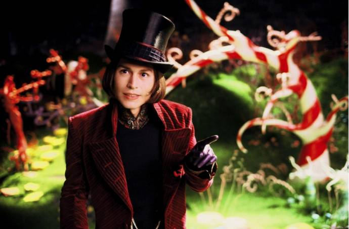 Johnny Depp (Willy Wonka)