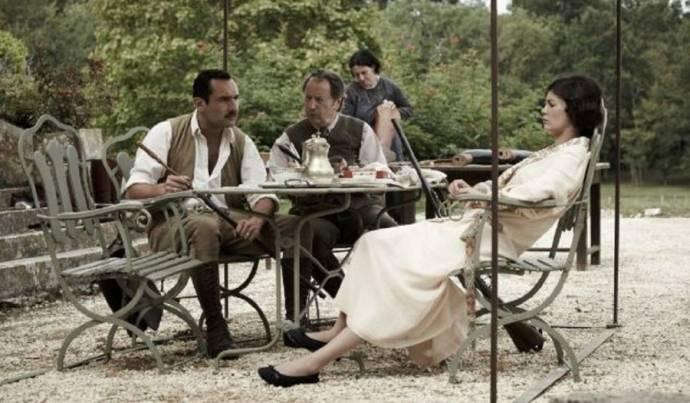 Gilles Lellouche (Bernard Desqueyroux) en Audrey Tautou (Thérèse Desqueyroux)