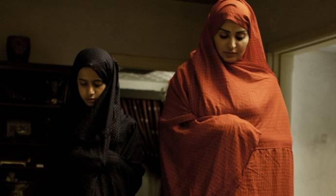 Waad Mohammed (Wadjda) en Reem Abdullah (Moeder)
