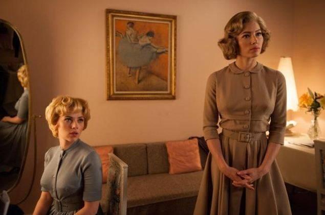 Jessica Biel (Vera Miles) en Scarlett Johansson (Janet Leigh)