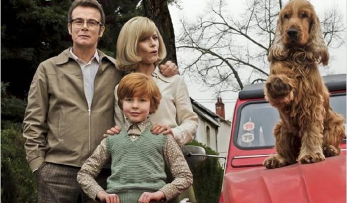 Franck Dubosc (Papa), Marina Foïs (Maman) en Charles Crombez (Boule)