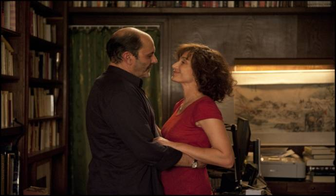Jean-Pierre Bacri (Damien) en Kristin Scott Thomas (Iva)