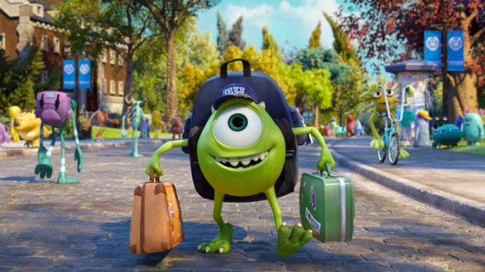 Monsters University 3D (NL) filmstill