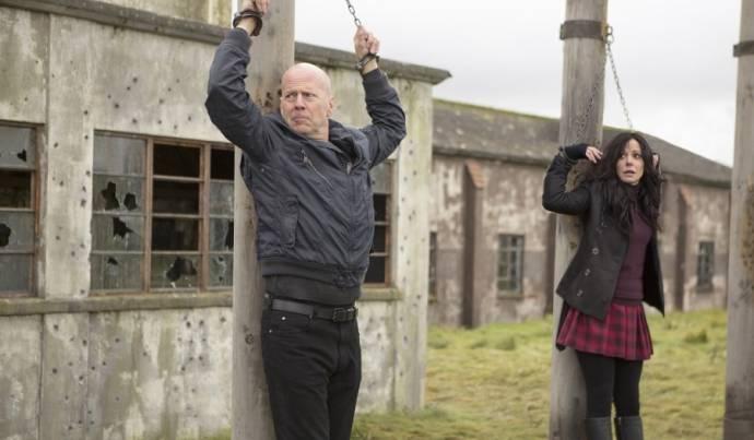 Bruce Willis (Frank) en Mary-Louise Parker (Sarah)