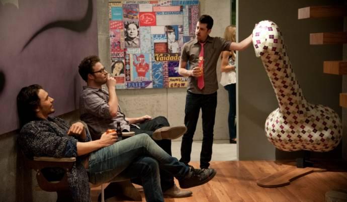 James Franco (James Franco), Seth Rogen (Seth Rogen) en Christopher Mintz-Plasse (Christopher Mintz-Plasse)