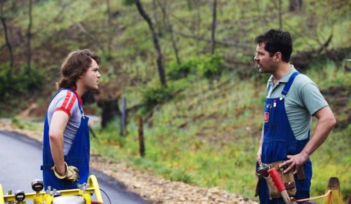 Emile Hirsch (Lance) en Paul Rudd (Alvin)