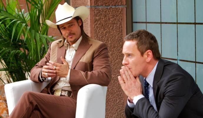 Brad Pitt (Westray) en Michael Fassbender (The Counselor)