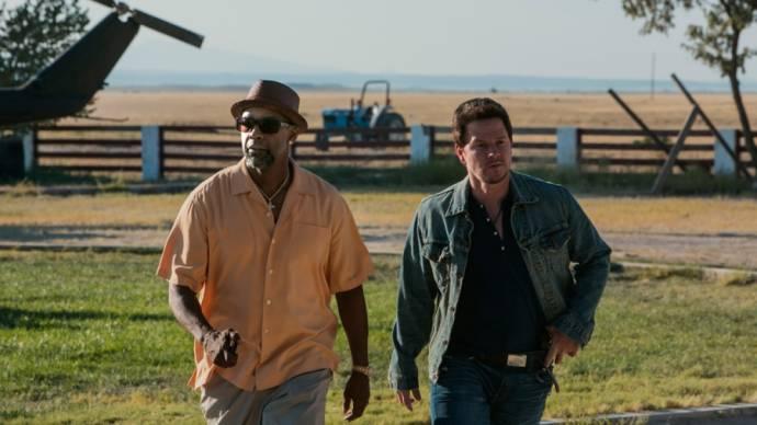 Denzel Washington (Bobby) en Mark Wahlberg (Stig)