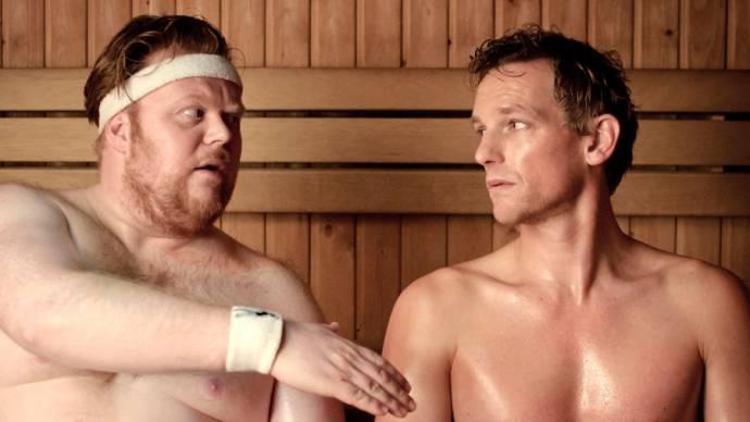 Fabian Jansen (Niels) en Barry Atsma (Dennis)