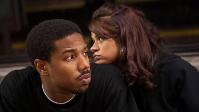 Michael B. Jordan (Oscar Grant) en Melonie Diaz (Sophina)