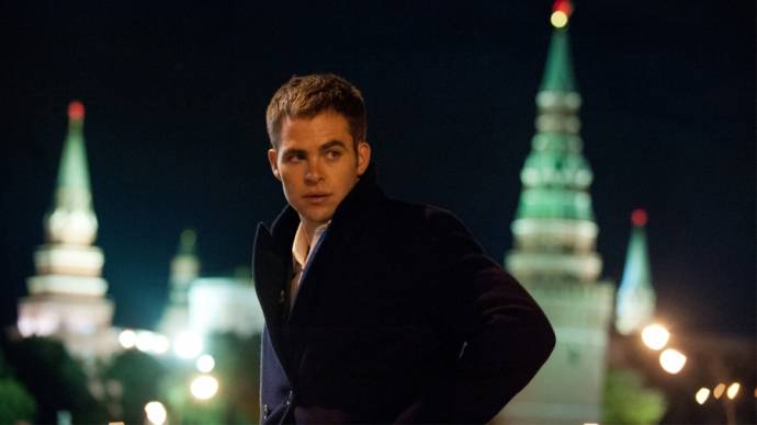 Chris Pine (Jack Ryan)