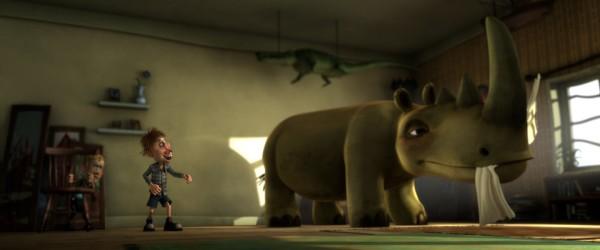 Otto is een neushoorn