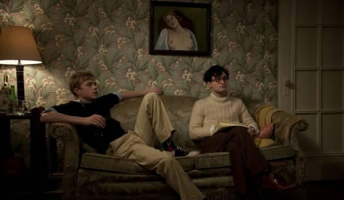 Dane DeHaan (Lucien Carr) en Daniel Radcliffe (Allen Ginsberg)