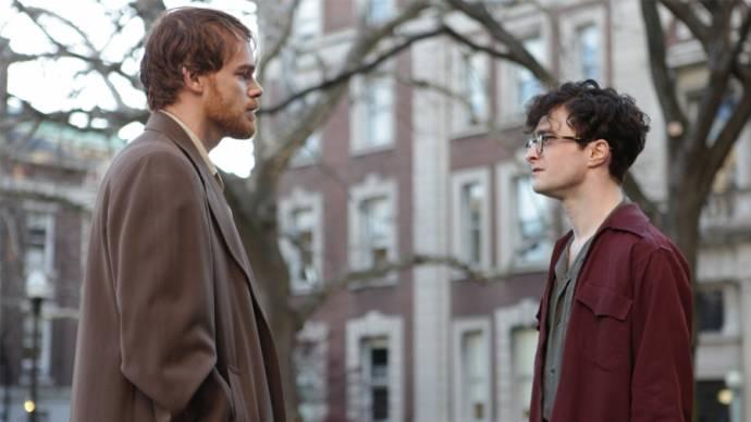 Michael C. Hall (David Kammerer) en Daniel Radcliffe (Allen Ginsberg)