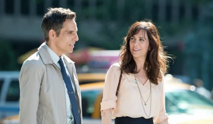 Ben Stiller (Walter Mitty) en Kristen Wiig