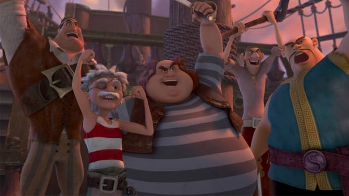 TinkerBell en de Piraten (NL) filmstill