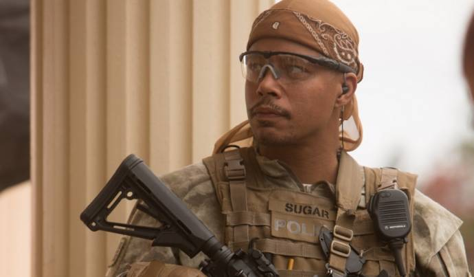 Terrence Howard (Sugar) in Sabotage