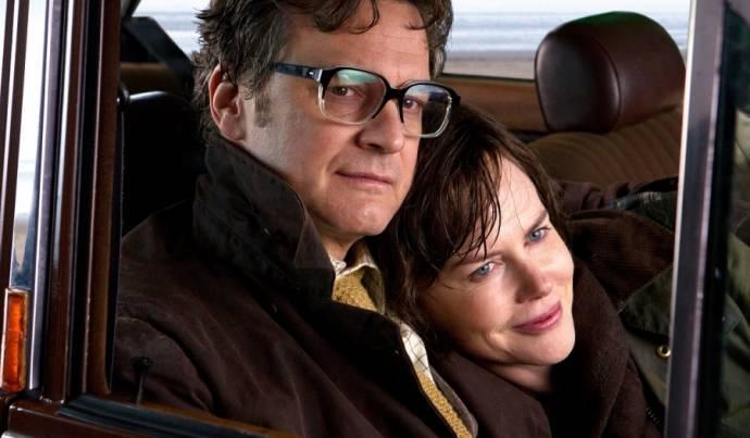 Colin Firth (Eric Lomax) en Nicole Kidman (Patricia Wallace)
