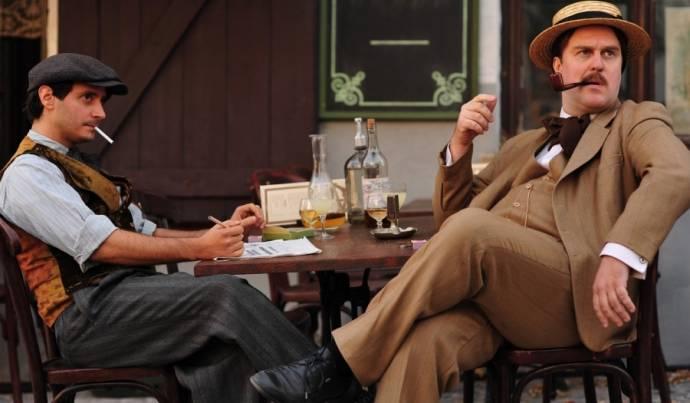 Ignacio Mateos (Pablo Picasso) en Stanley Weber (George Braque)