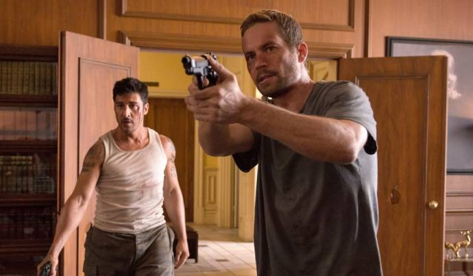 David Belle (Lino) en Paul Walker (Damien)