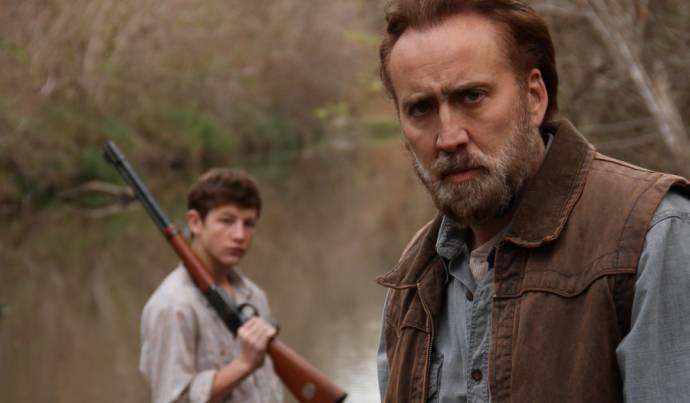 Tye Sheridan (Gary) en Nicolas Cage (Joe Ransom)