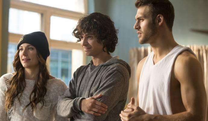 Briana Evigan (Andie) en Ryan Guzman (Sean)