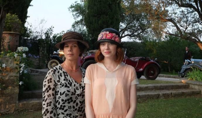 Marcia Gay Harden en Emma Stone