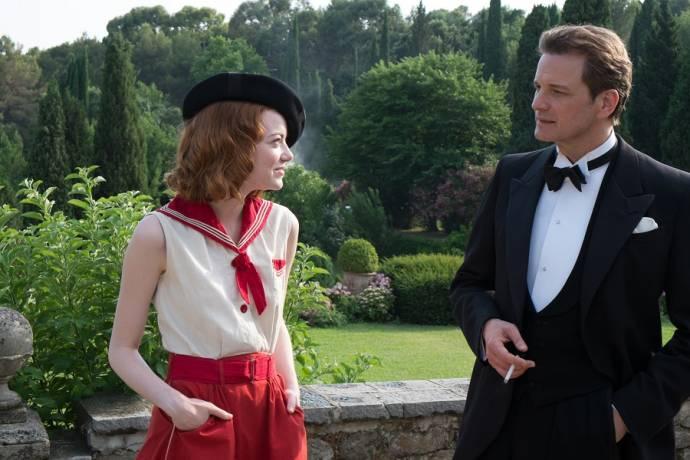 Emma Stone en Colin Firth