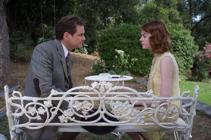 Colin Firth en Emma Stone