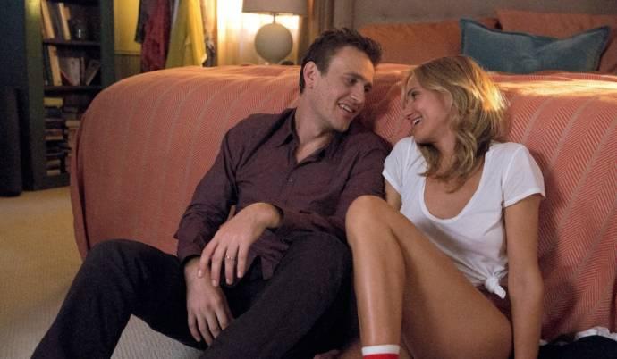 Jason Segel (Jay) en Cameron Diaz (Annie)