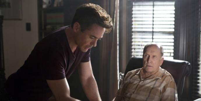 Robert Downey Jr. (Hank Palmer) en Robert Duvall (Judge Joseph Palmer)