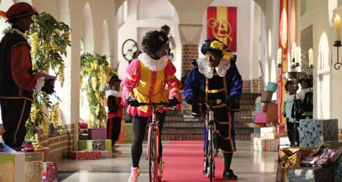 Tim de Zwart (Hoge Hoogte Piet) en Beryl van Praag (Testpiet)