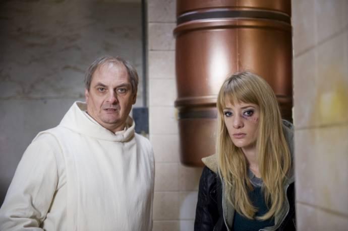 Martin van Waardenberg en Noortje Herlaar (Jessica)