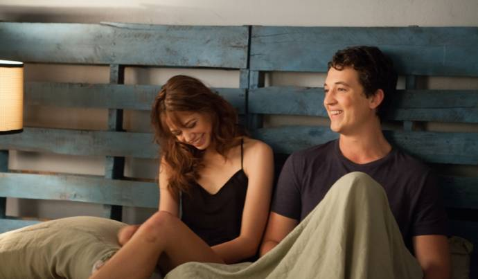 Analeigh Tipton (Megan) en Miles Teller (Alec)