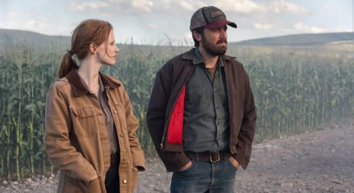 Jessica Chastain en Casey Affleck
