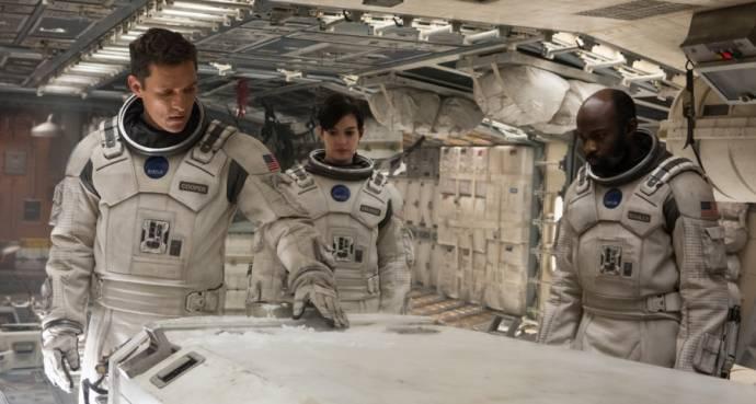 Matthew McConaughey (Cooper), Anne Hathaway en David Oyelowo