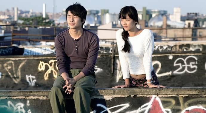 Justin Chon (Sonny) en Shuya Chang (Tina)