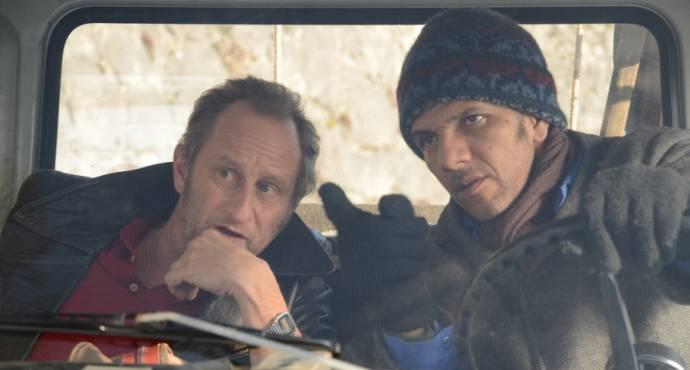 Benoît Poelvoorde (Eddy) en Roschdy Zem (Osman)
