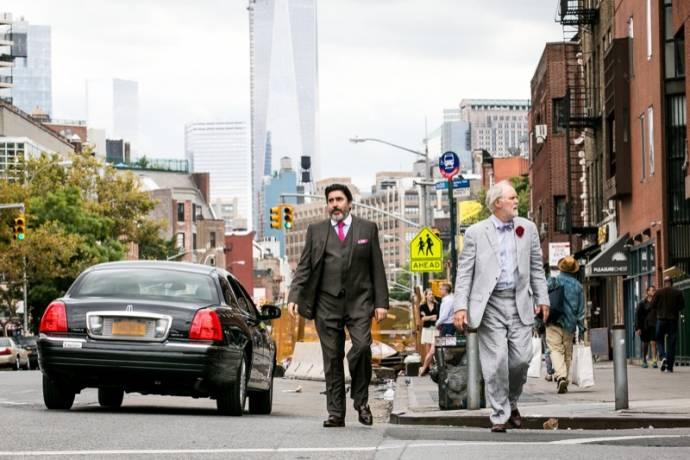 Alfred Molina (George) en John Lithgow (Ben)