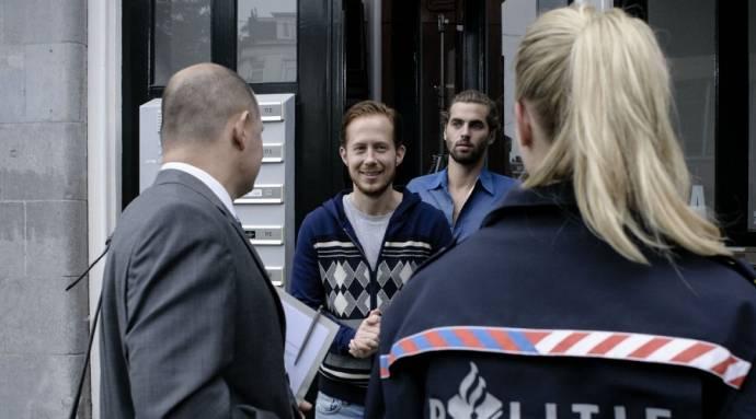 Robert de Hoog (Timo) en Manuel Broekman (Sebas)
