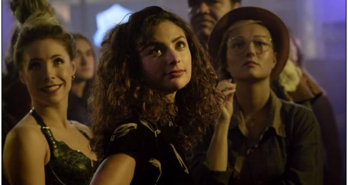 Kiki van Deursen (Saartje), Charlie Dagelet (Sophie (as Charlie Chan Dagelet)) en Carolien Spoor (Mandy)