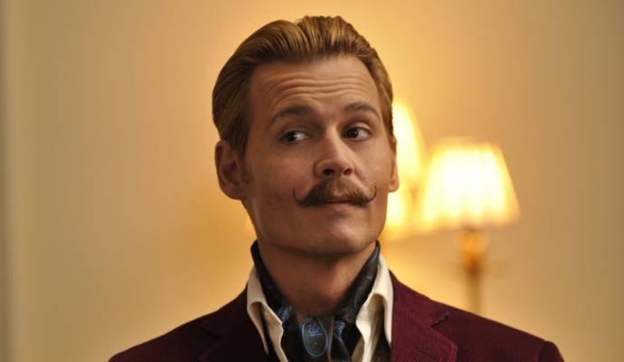 Johnny Depp (Charles Mortdecai)