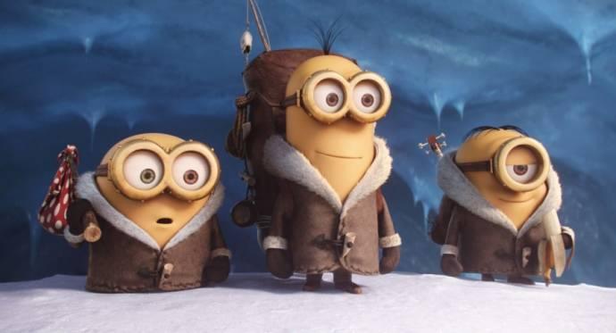 Bob, Kevin en Stuart