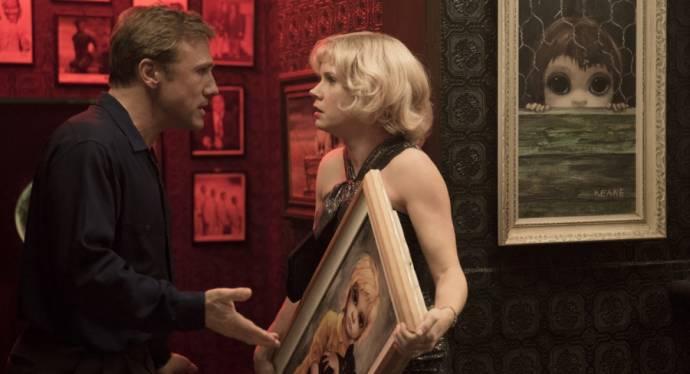 Christoph Waltz (Walter Keane) en Amy Adams (Margaret Keane)