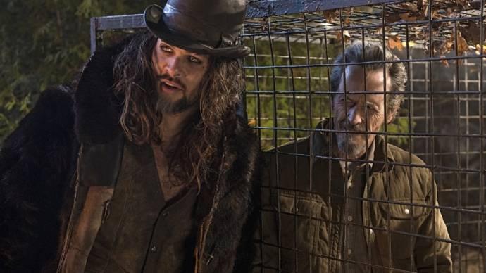 Jason Momoa (Connor) en Stephen McHattie (John Tollerman)