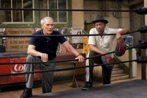 Clint Eastwood en Morgan Freeman